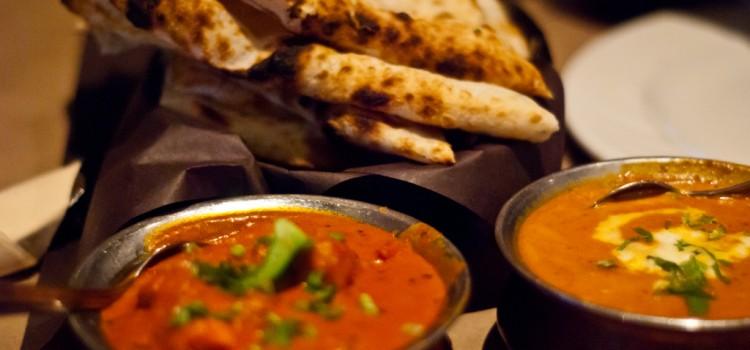 comer en la India