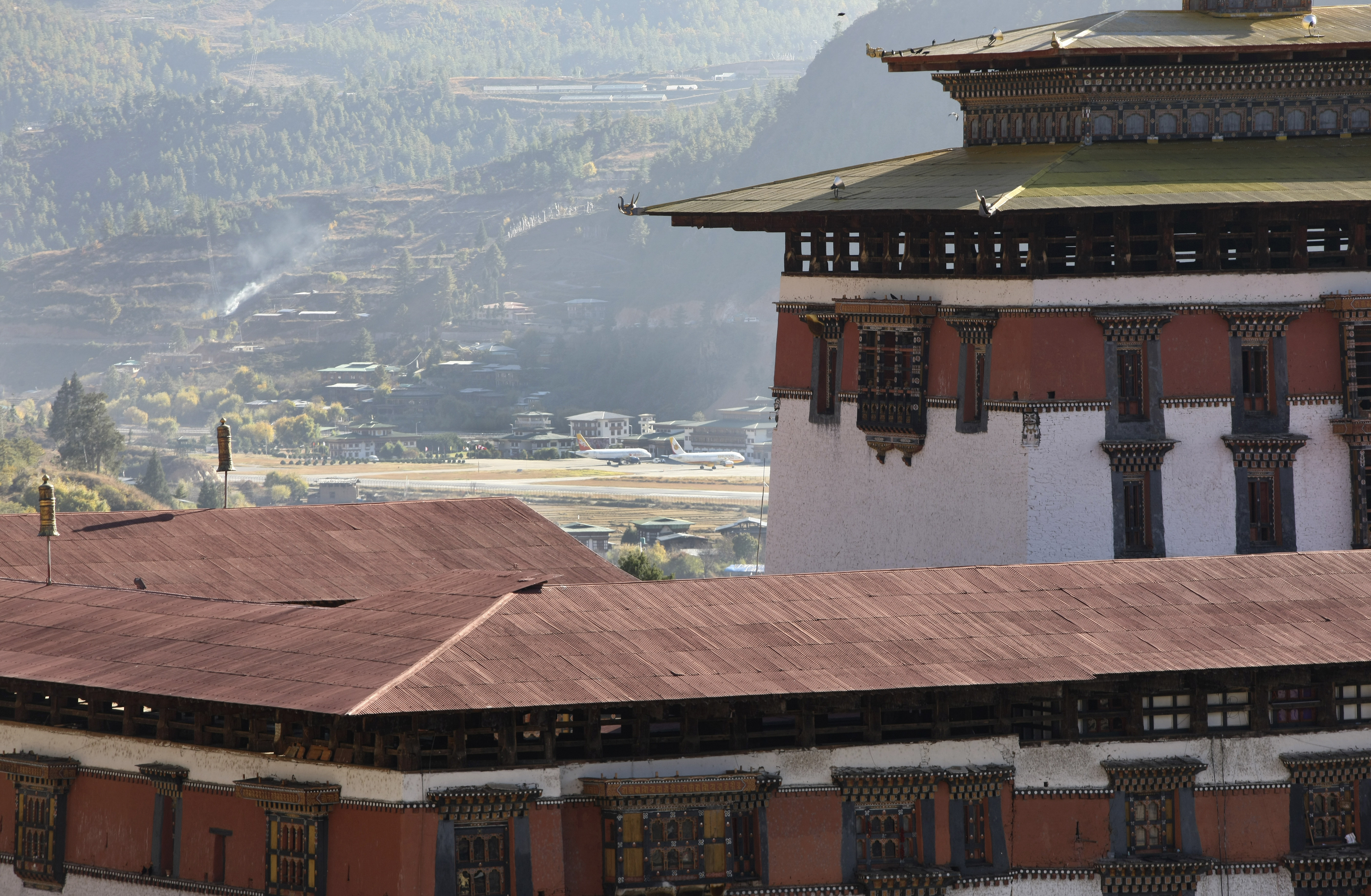 pérdida de equipaje en Bután